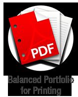 Balanced Portfolio for Printing